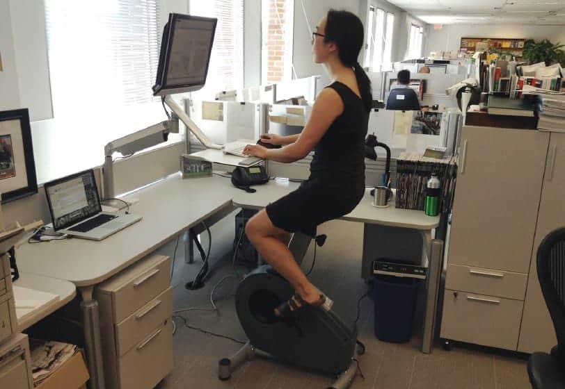 Ćwiczenia przy biurku – w pracy czy w domu